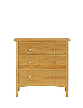Hastings Natural 3 Drawer Chest