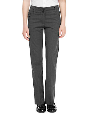 Girls' Trousers with Crease Resistant