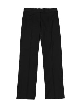 Girls' Pure Cotton Skin Kind™ Regular Leg Trousers with New & Improved Fabric