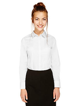Senior Girls' Cotton Blend Blouse