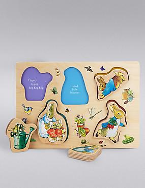 Peter Rabbit™ Wooden Puzzle, , catlanding