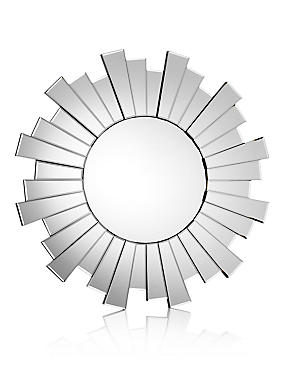 Circle Sunburst Mirror