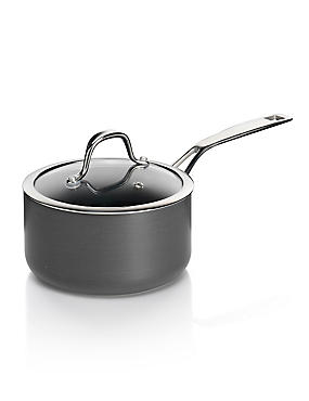 Chef Hard Anodised 16cm Saucepan