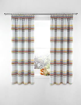 Bold Striped Curtains
