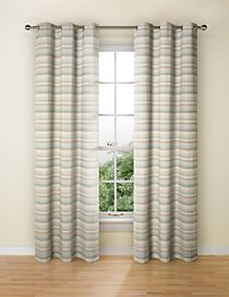Geo Chenille Curtains