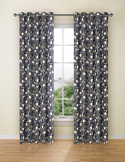 floral print curtains mamps