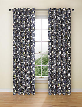 Loft Floral Print Curtains