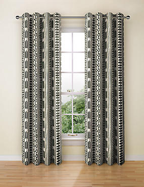 Tribal Print Curtain