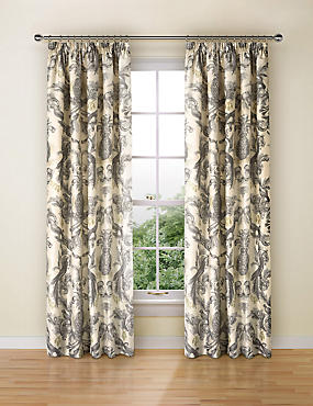 Otis Parrot Print Curtain