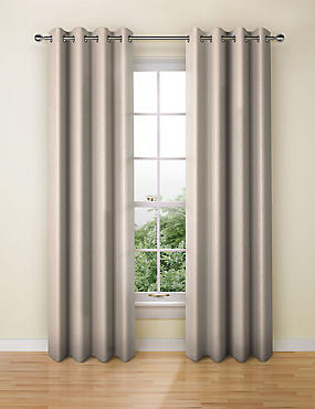 Textural Stripe Eyelet Curtain