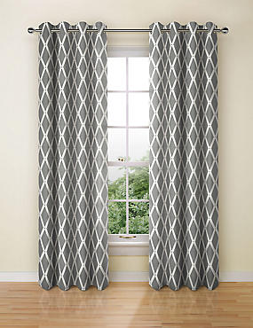 Manhattan Eyelet Curtain