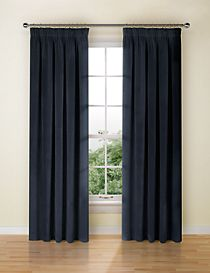 Velvet Pencil Pleat Curtain