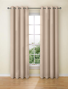 Banbury Weave Eyelet Curtains