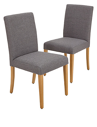 Marks And Spencer 2 Tromso Dining Chairs: 2 Tromso Dining Chairs