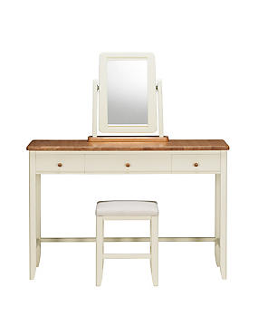 Winchester Dressing Table Set Cream