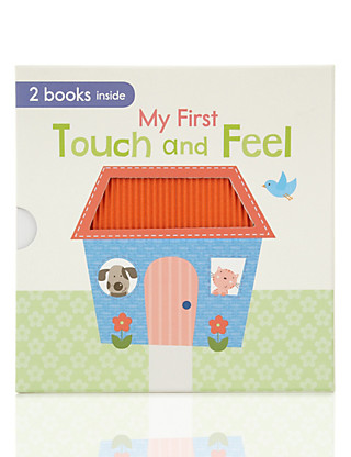 My First Touch & Feel Book Home