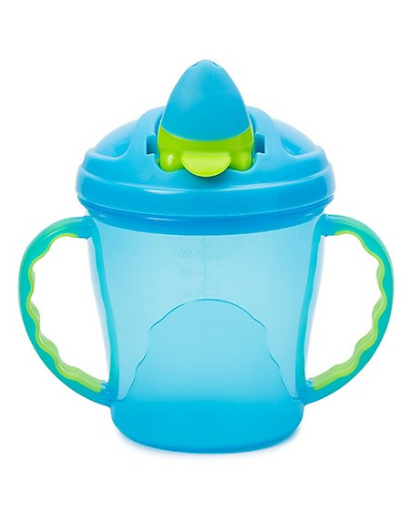 Soft Flip-Spout Free-Flow Cup