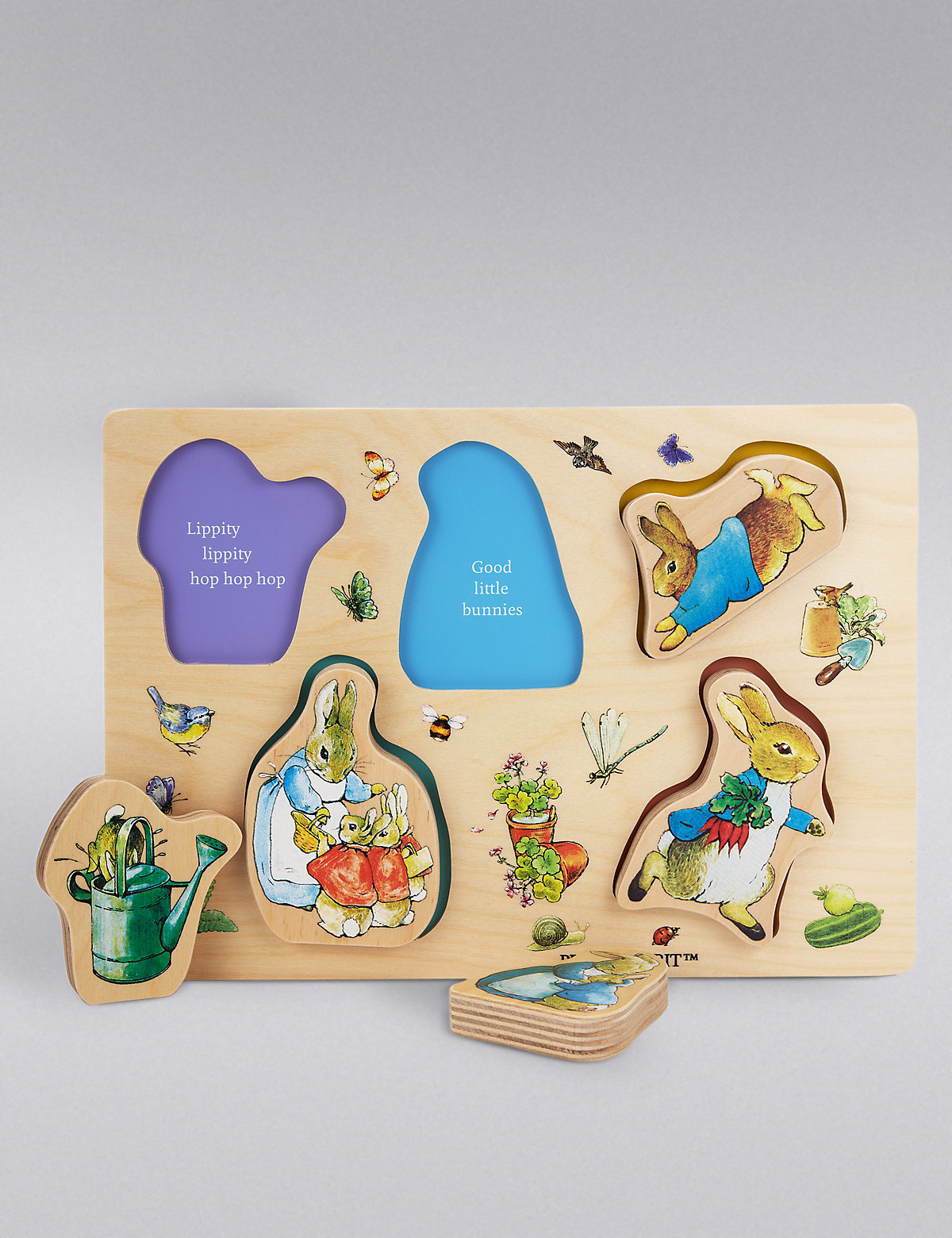 Easter gifts ms peter rabbittrade wooden puzzle negle Image collections