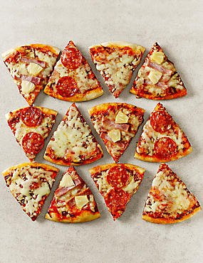 Pizza Slice Selection - 12 Slices