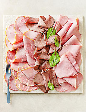 British Sliced Meat Platter (25 Slices)