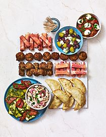 Mediterranean Mezze Selection
