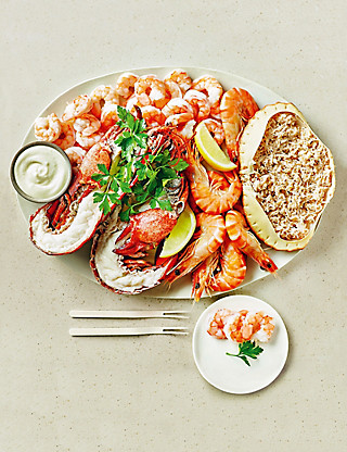 Shellfish Platter Food
