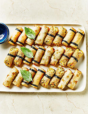 Vegetable Spring Rolls (24 Pieces)