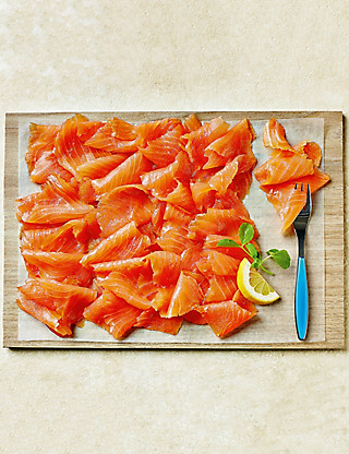 Side of Scottish Lochmuir™ Smoked Salmon (16 Slices) Food