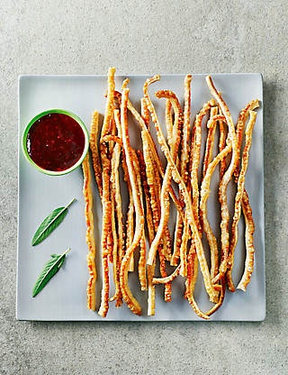 British Pork Crackling Straws - 48 Pieces Food