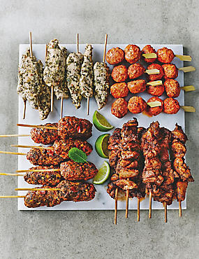 Chicken Kebab Platter - 30 Pieces