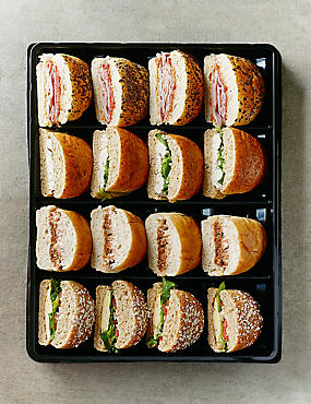 Big Eat Deli Roll Platter - 16 Pieces