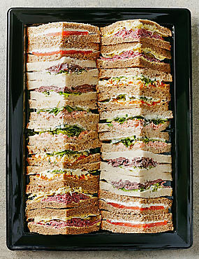 Luxury Sandwich Selection (20 Quarters)