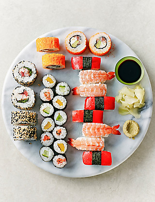 Small Sushi Platter - 28 Pieces Food