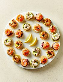 Luxury Fish Canapé Selection (24 Pieces)