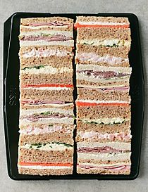 Afternoon Tea Sandwich Fingers (20 Sandwich Fingers)