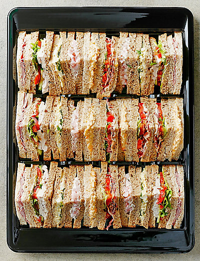 Classic Sandwich Selection 30 Quarters M Amp S
