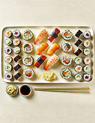 Large Sushi Platter - 38 Pieces Food
