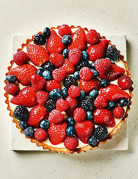 Mixed Berry Tart (8 Serves)