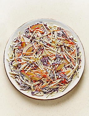 From The Deli Crunchy Apple Slaw