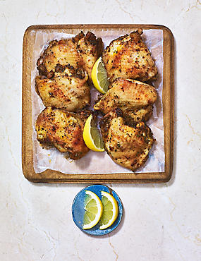 Mediterranean Spiced Whole Chicken Thighs