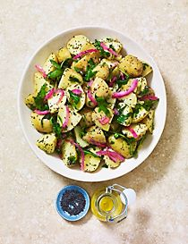 Poppy Seed & Lemon Potato Salad
