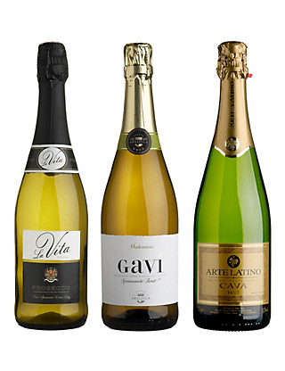 Sparkling Showcase - Mixed Case of 6 Wine
