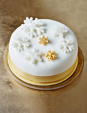 The Collection Gluten-Free Snowflake Cascade Christmas Cake