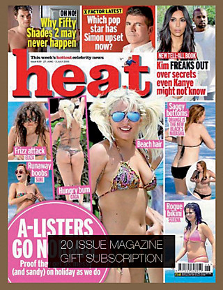 Heat - Magazine Gift Subscription Home
