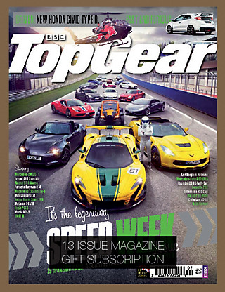 Top Gear - Magazine Gift Subscription Home