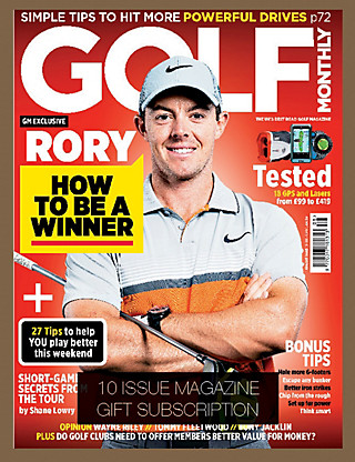 Golf Monthly - Magazine Gift Subscription Home