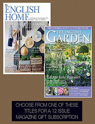 English Home / English Garden Pack - Magazine Gift Subscription Home