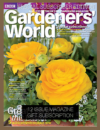 Gardeners' World - Magazine Gift Subscription Home