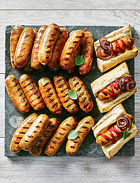 Barbecue Sausage Selection (24 Pieces)