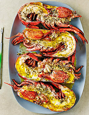 4 Canadian Lobster Halves